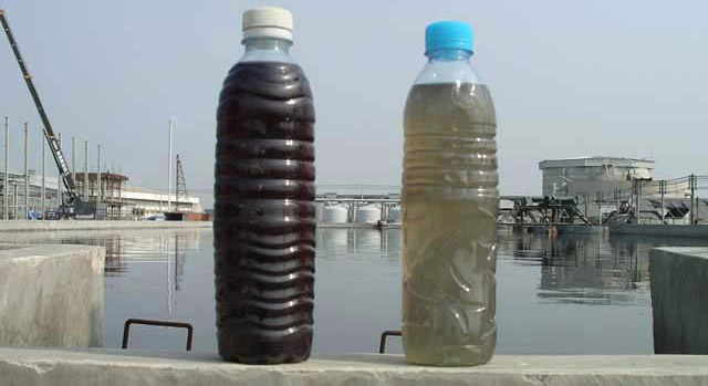 Textile Factory Waste Water Results